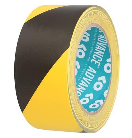 Bilde av Advance Tapes 5803 Safety Tape Black Yellow