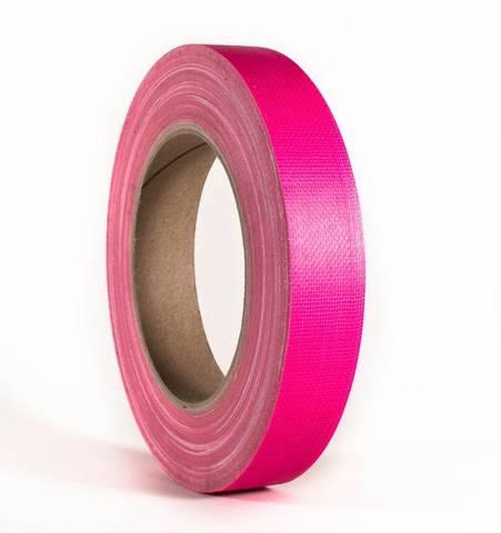 Bilde av Gaffa / Gaffer Tapes Neon Rosa 19mm x 25m